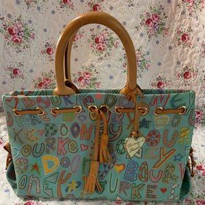 Dooney & Bourke. Handbag. EUC. Multicolored